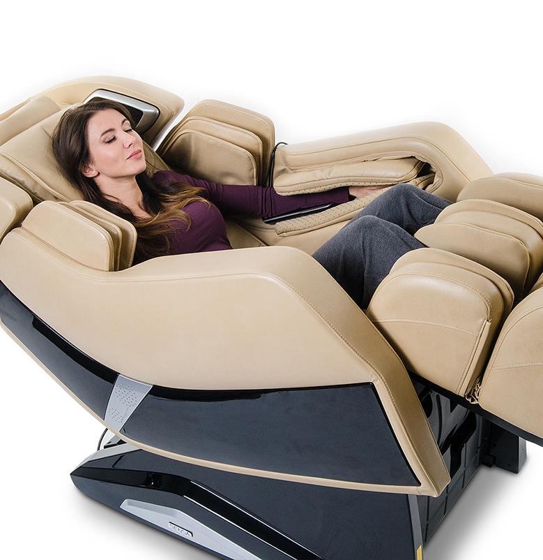 Кресло Prestige. Несколько массажных программ