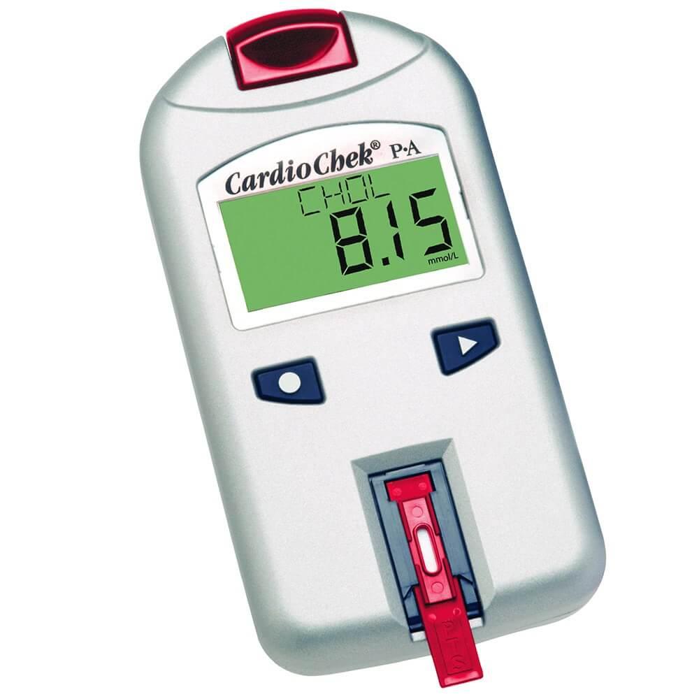 Современные средства измерения показателей холестерина в крови человека экспресс-методом