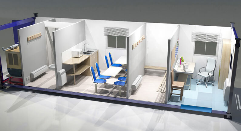 Передвижной стоматологический кабинет